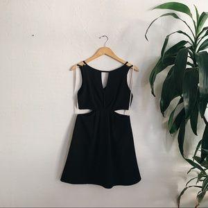 BCBG Generation simple black dress